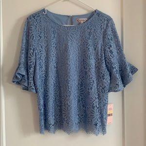 Nanette Lepore lace blouse